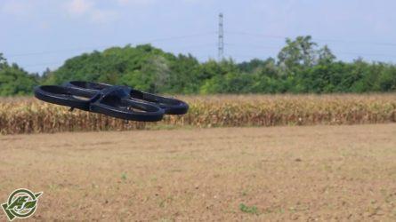 Drónok a szántóföldek felett - Gödöllői Gazdanap 2014