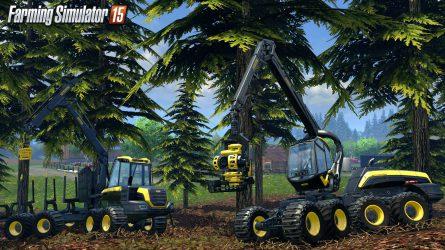 Új Farming Simulator 2015 kisfilm erdészeti gépekkel (VIDEÓK)