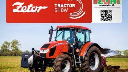 Zetor Traktor Show - Gépbemutató hét helyszínen