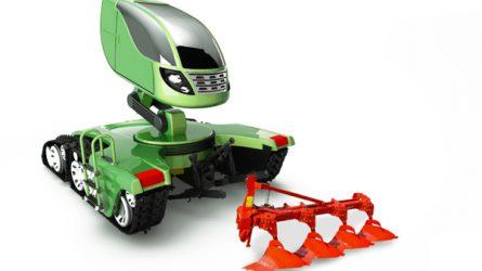 Tényleg így fognak kinézni a jövő traktorai? (KÉPEK, VIDEÓK)