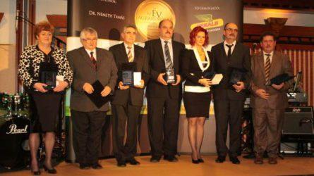 Az Év Agrárembere 2014 díjátadó
