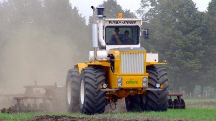 Allison sebességváltó a megújult Rába traktorban