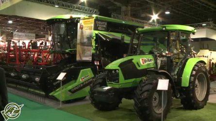 A legszebb Deutz-Fahr traktor, az új Deutz-Fahr kombájn és a díjazott Pronar pótkocsi
