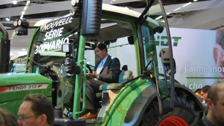 SIMA 2015 - Az új FENDT 300S4 lett az Év Traktora Franciaországban