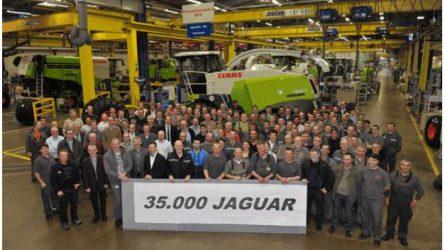 Elkészült a 35 000. Claas Jaguar önjáró silózó