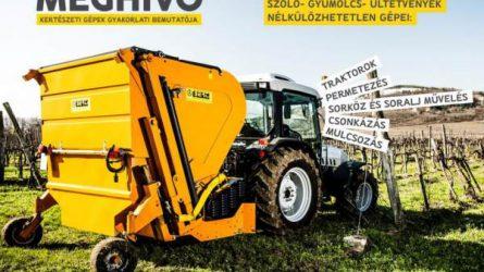 Kertészeti gépbemutatót tart az Auditker Kft. Zalaszentgróton