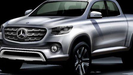 Nissan alapokon érkezik a Mercedes-Benz első platós terepjárója