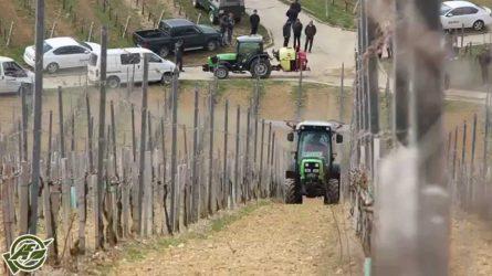 Gregoire szőlőkombájn, Hardi permetezőgépek és Deutz-Fahr traktorok a Dorker gépbemutatóján