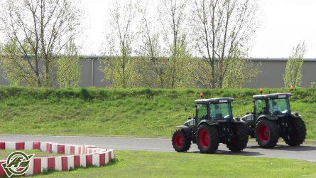 Hürlimann traktorok tesztvezetése Kecskeméten