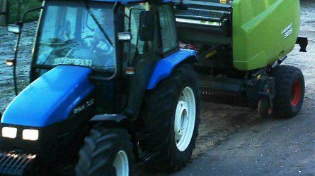 Segítsen megtalálni az ellopott traktort és körbálázót! (+KÉPEK)