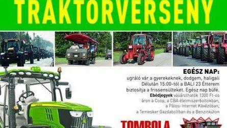 Most mutasd meg, traktoros! - V. Csólyospálosi Traktorverseny augusztus 8-án