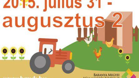 Szentlőrinci Gazdanapok 2015 - Helyi termékek, Nagy Talajművelő Show, gépkiállítás