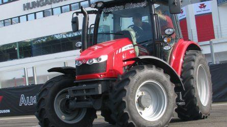 Massey Ferguson traktorok a Hungaroringen
