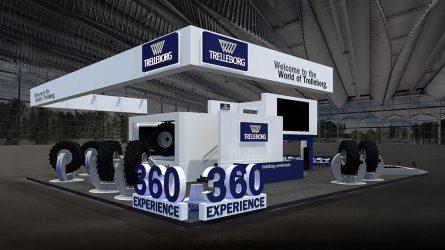 Virtuális Trelleborg Európai Road Show az Agritechnica 2015 kiállításon