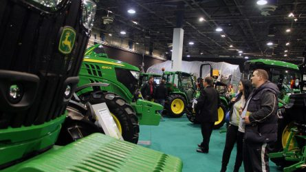 John Deere gépek az AGROmashEXPO-n - Díjazott önjáró silózó a KITE Zrt.-nél (VIDEÓ)
