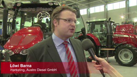 Massey Ferguson traktorok az AGROmashEXPO-n