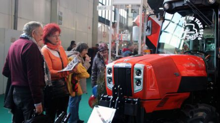 Magyarországon is bemutatkozott az egyedülálló Same Frutteto kistraktor