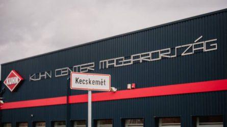 Telephelyet adott át a Kuhn Center Magyarország Kft.