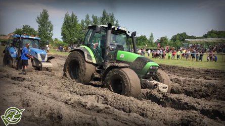 Saras traktorverseny, motorshow és gépbemutató - Deutz-Fahr, Nardi és Hardi gépek a Dorker Kft.-től