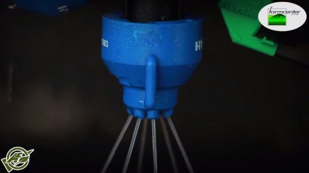 Hypro fúvókák, Startec folyékony hígtrágya kijuttató a Farmcenter Kft.-nél (VIDEÓ)