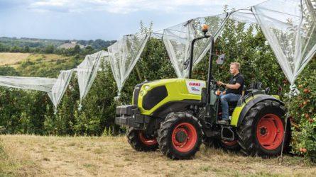 Itt a CLAAS legújabb traktora! - Bemutatkozik a keskeny nyomtávú CLAAS NEXOS (+KÉPEK)