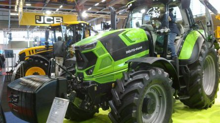 Látogatóban a welsi AGRARIA kiállításon - Magyar csőtörő adapter Ausztriában