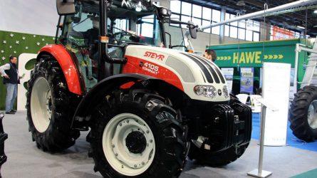STEYR traktorok az AGROmashEXPO-n - Magtár Kft. sajtótájékoztató