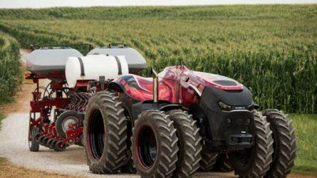 Robot traktor és csuklós kombájn - Újdonságok, érdekességek a mezőgépészet területén