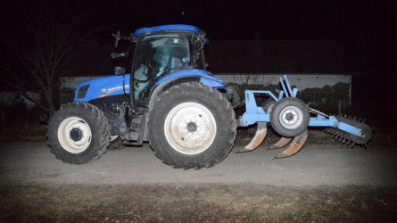 Lopott traktorokat foglalt le a rendőrség Békés megyében