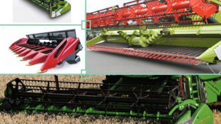 Gépújdonságok az olajnövények termesztési technológiáiban - Betakarító adapterek