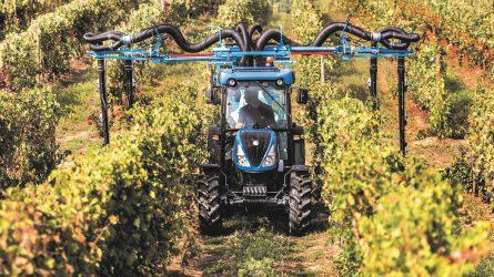 Új New Holland traktorok gyümölcs- és szőlőültetvényekbe