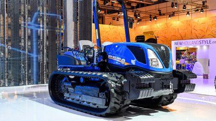 Bemutatkozott a New Holland TK4 gumihevederes traktora
