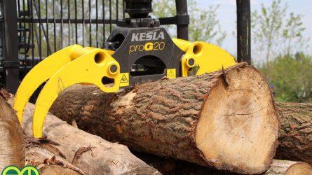 Erdészeti gépbemutatót tartott Ladánybenén a Valkon Kft. (+KÉPEK, VIDEÓ)