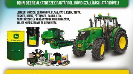 Agro-JDTechnika Kft. – Már nem csak mezőgazdasági gépalkatrész kereskedő