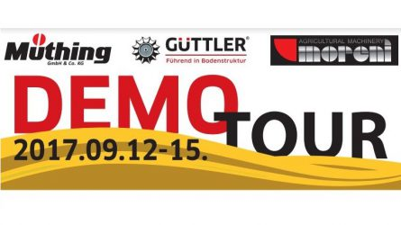 Güttler Demo Tour 2017.09.15