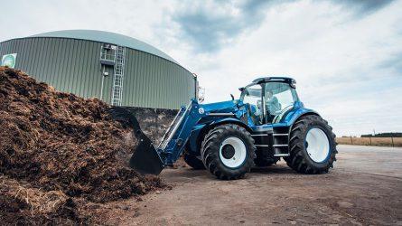 A New Holland bemutatta metánhajtású traktorát