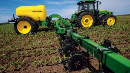 A folyékony műtrágyázás lehetőségei a szántóföldi növénytermesztésben