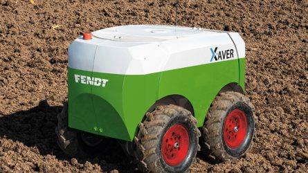 Fendt szántóföldi robot kukoricavetéshez