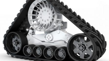 Új Camso gumihevederes járószerkezetek kombájnokra és traktorokra