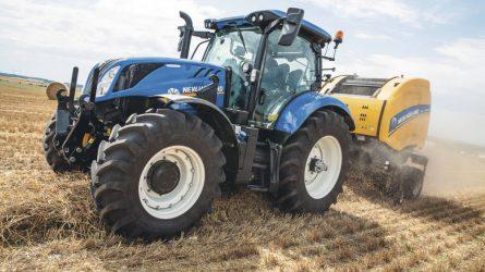 A New Holland T6 Dynamic Command erőgépe lett a legjobb középkategóriás traktor