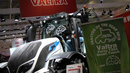 Bemutatjuk a 2018-as év traktorát -  Valtra T254 Versu az Agritechnica kiállításon
