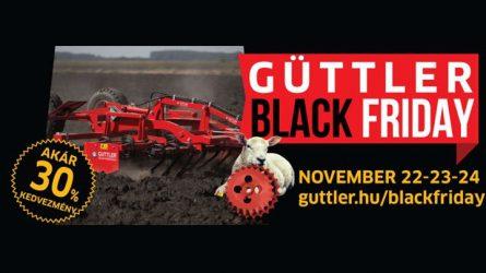 Güttler Black Friday - Talajművelő gépek és szárzúzók akár 30%-os kedvezménnyel