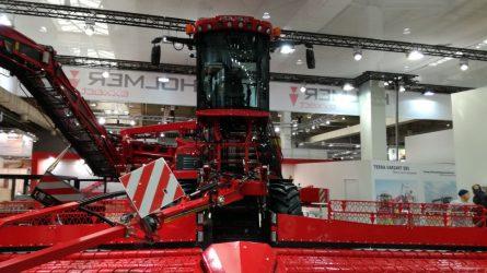 A hannoveri Agritechnica precíz gazdaszemmel