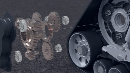 Zuidberg gumihevederes járószerkezetek az Agritechnica kiállításról (VIDEÓ)