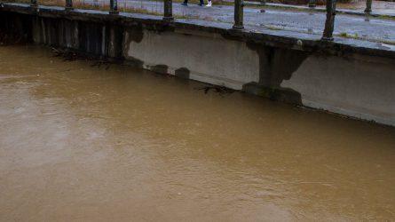 Jelentős mennyiségű csapadék várható a vízgyűjtő területeken