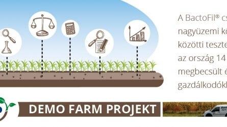 AGRO.bio Demo Farm Projekt 2016-2017 - A tények beszélnek helyettünk!