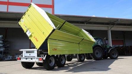 Tavaly is a Fliegl nyerte a mezőgazdasági pótkocsik piacát