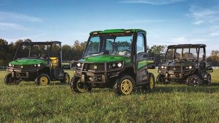 Újabb típusokkal bővül a John Deere GATOR terepjárók választéka