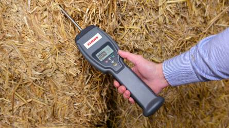 Új nedvességmérő szénához, szilázshoz, szalmához és gabonához