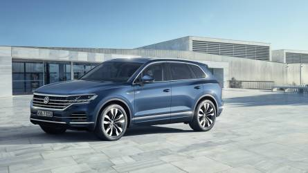 Új Touareg a Volkswagentől